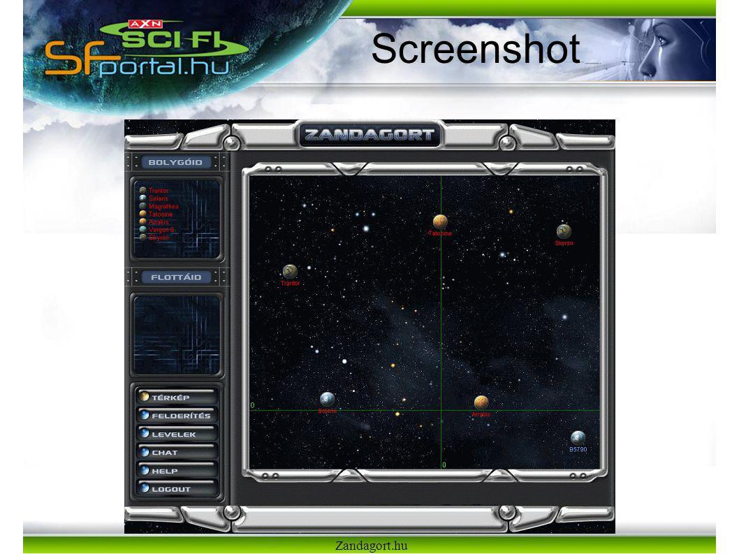 Zandagort.hu Screenshot