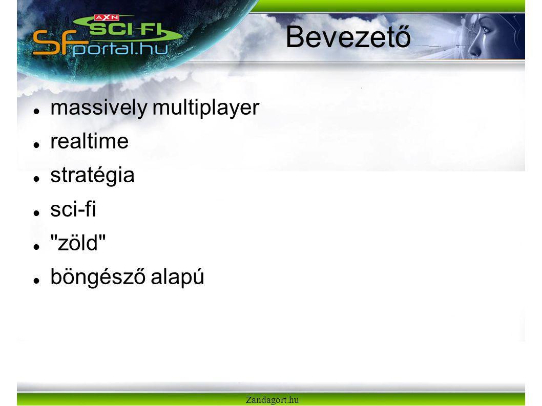 Zandagort.hu Bevezető massively multiplayer realtime stratégia sci-fi