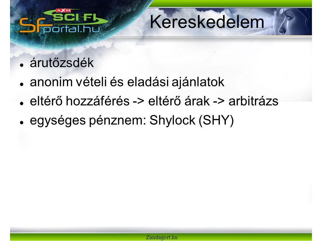 Zandagort.hu Kereskedelem árutőzsdék anonim vételi és eladási ajánlatok eltérő hozzáférés -> eltérő árak -> arbitrázs egységes pénznem: Shylock (SHY)