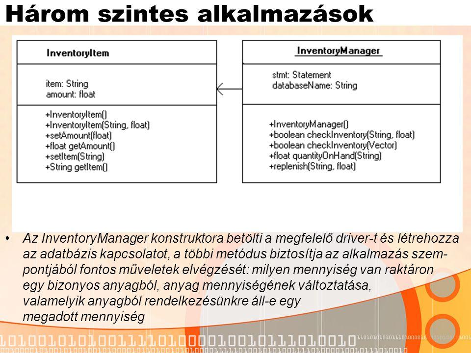 InventoryItem.java public class InventoryItem { String item; float amount; public InventoryItem() { item = ; amount = 0; } public InventoryItem(String s, float a) { item = s; amount =a ; } public void setAmount(float a) { amount = a; } public float getAmount() { return amount; } public void setItem(String s) { item = s; } public String getItem() { return item; } }