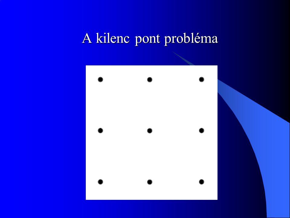A kilenc pont probléma