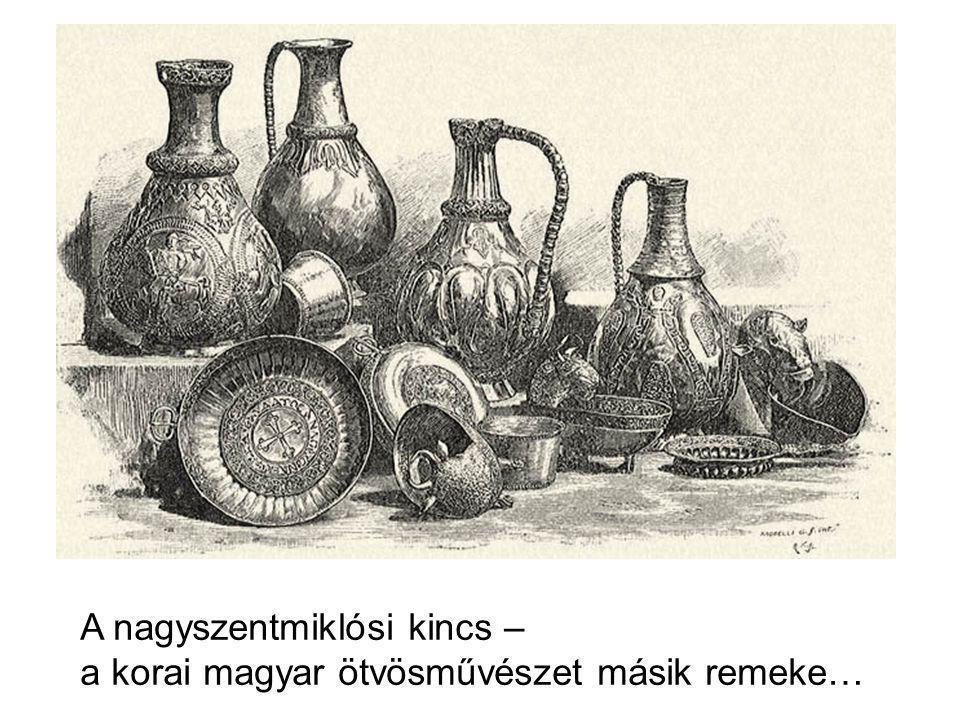 A nagyszentmiklósi kincs – a korai magyar ötvösművészet másik remeke…