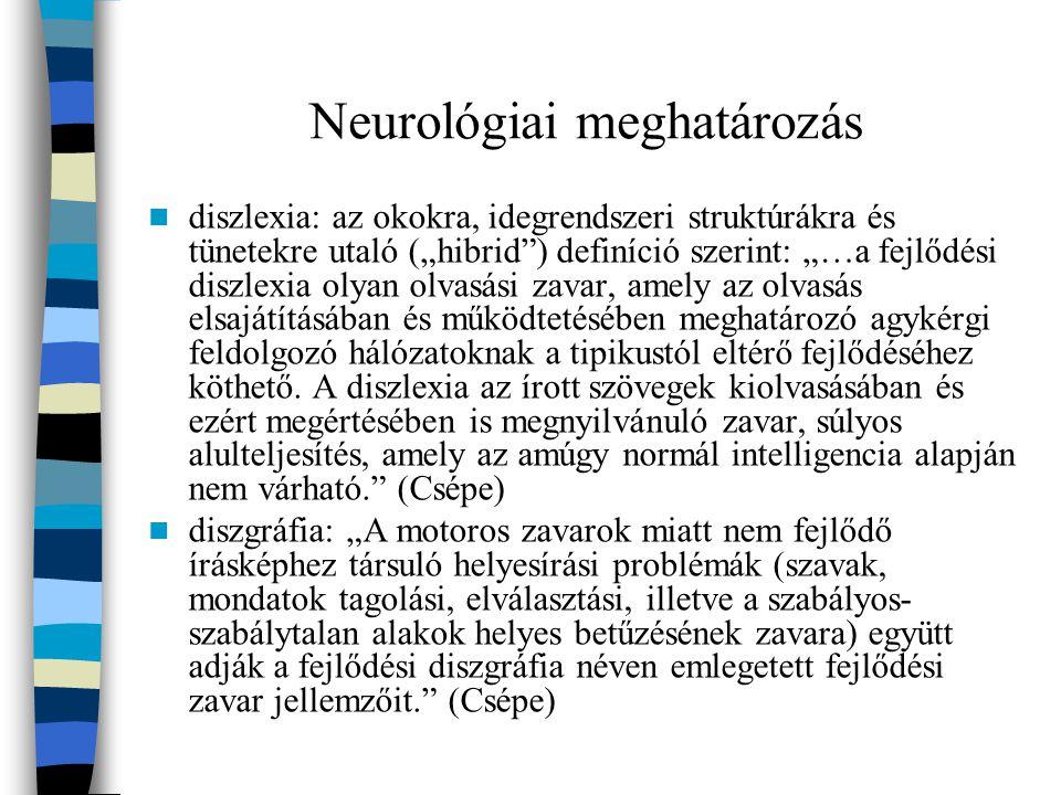 Tünetek tapasztalatok szerint a diszlexia és a diszgráfia izoláltan is előfordulhat, de gyakori, hogy a kettő együtt jelenik meg.