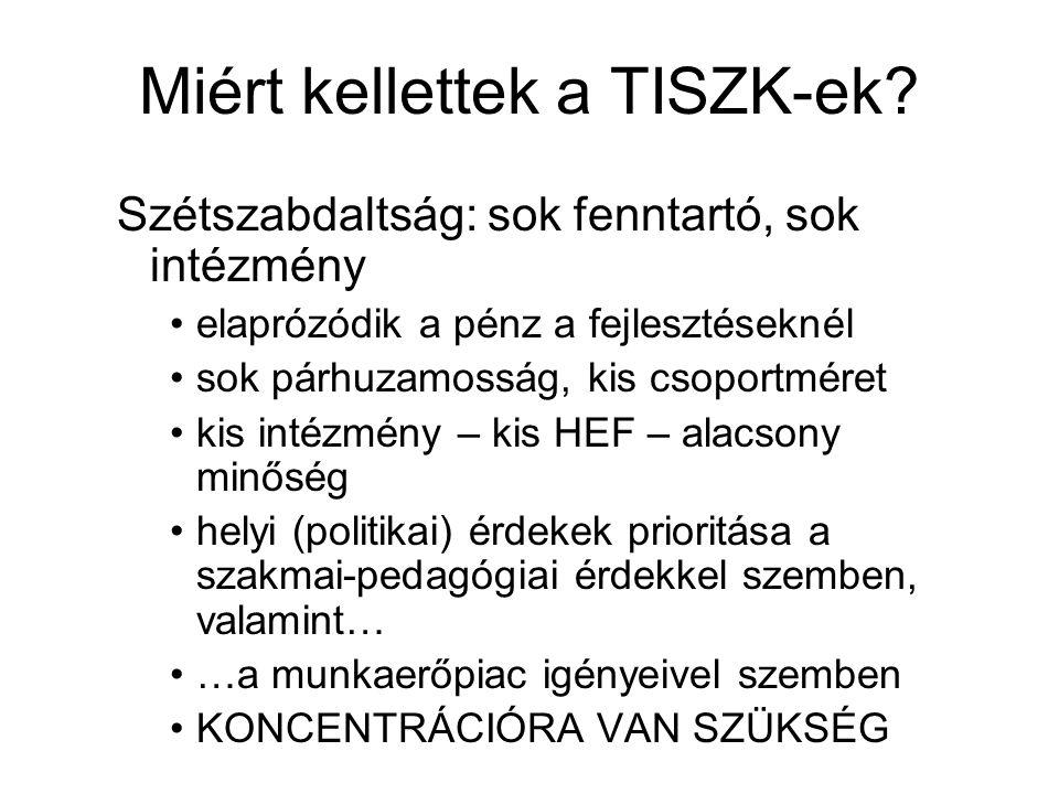 TISZK-történet dióhéjban I.
