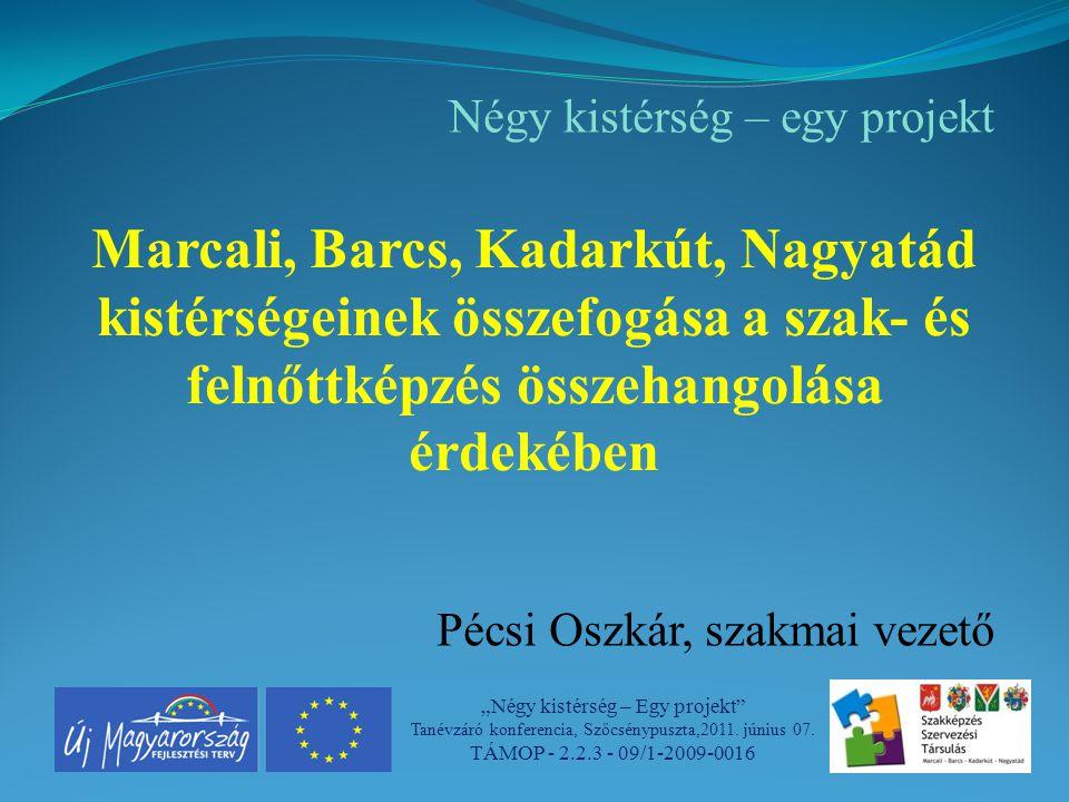"""""""Négy kistérség – Egy projekt Tanévzáró konferencia, Szőcsénypuszta,2011."""