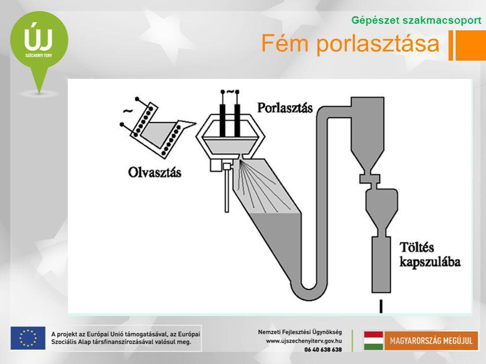 8 A porok alakja és mérete  A porgyártás módja szerint eltérő alakú és méretű porok keletkeznek  Mérettartomány: 0,001…1 mm  Alakok:  Gömbszerű  Elnyúlt  Szabálytalan  Porózus Gépészet szakmacsoport