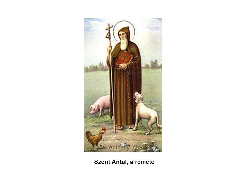 Szent Antal, a remete