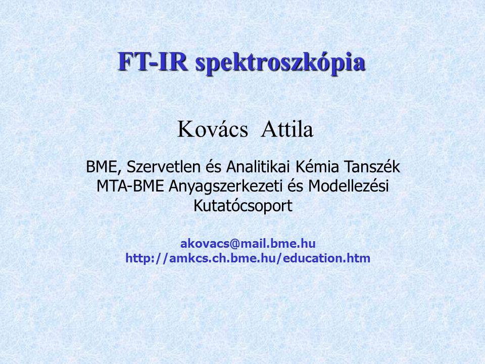 Kovács Attila BME, Szervetlen és Analitikai Kémia Tanszék MTA-BME Anyagszerkezeti és Modellezési Kutatócsoport akovacs@mail.bme.hu http://amkcs.ch.bme