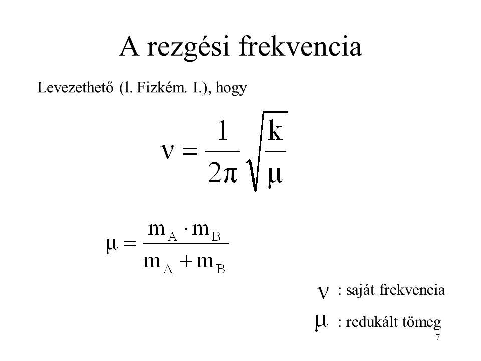 Kvantummechanikai tárgyalás: Schrödinger-egyenlet 8
