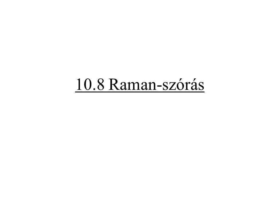 10.8 Raman-szórás