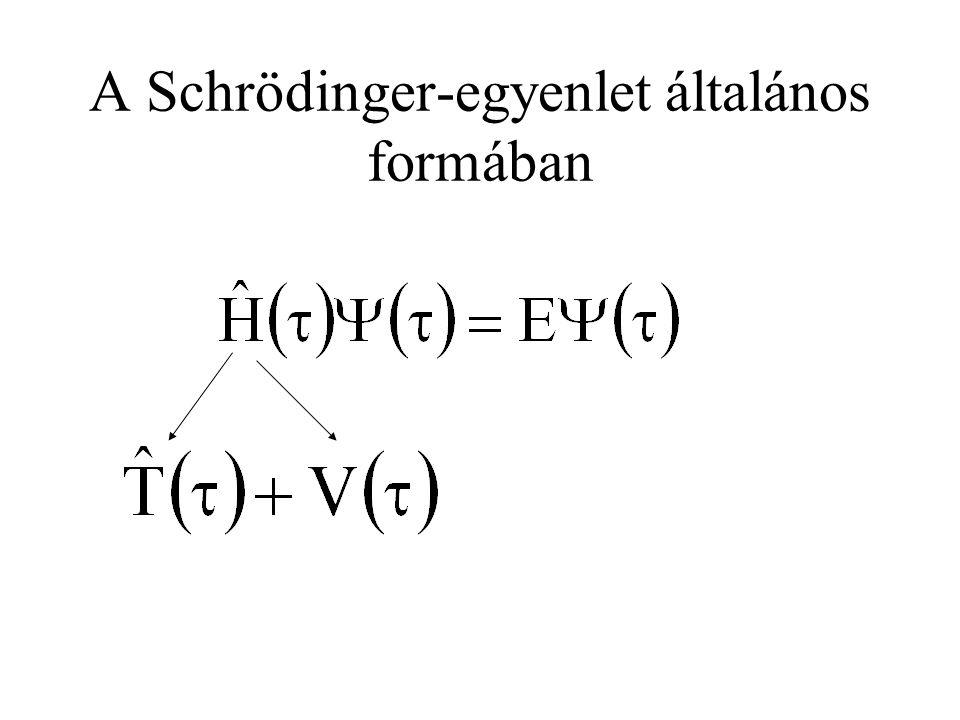 S csoport-spinkvantumszám 0 vagy 1 Zárt héjakra : S = 0 Nyílt héjakra : 1 db elektron: 2 db elektron: 2-nél több elektron: még bonyolultabb