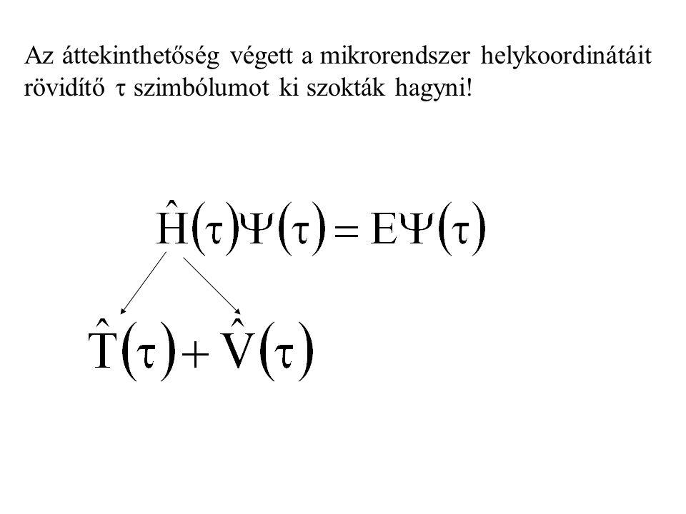 J csoport-belsőkvantumszám Könnyű elemeknél: J = L+S, L+S-1 …,  L-S  Nehéz elemeknél: másképp.
