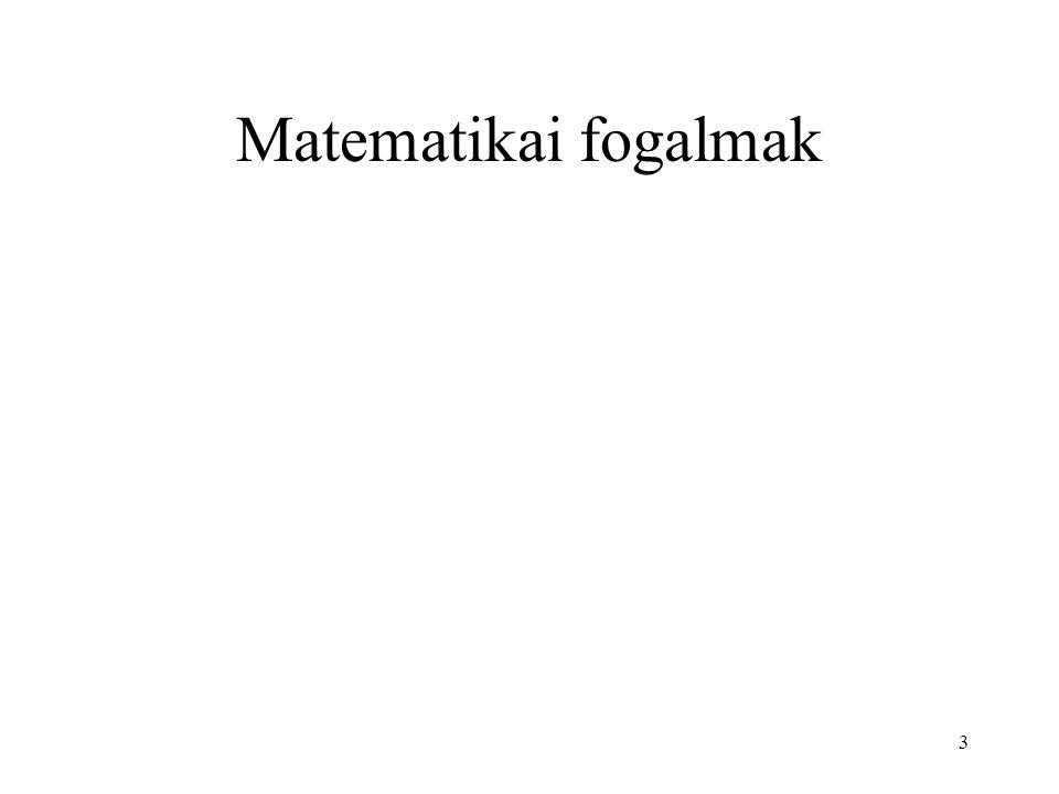 Matematikai fogalmak 3