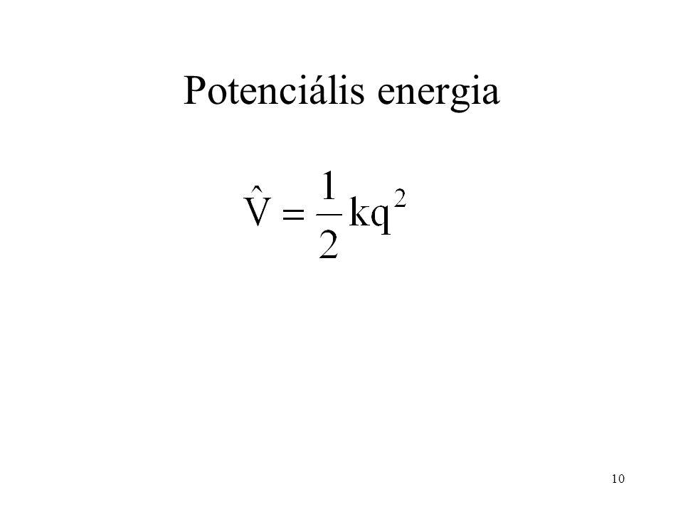 Potenciális energia 10