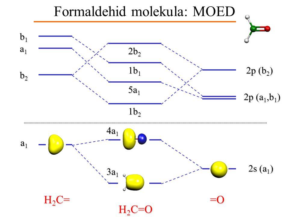 A formaldehid MOED-je