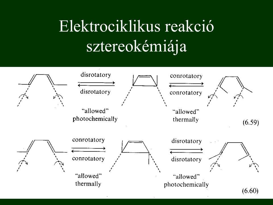 Elektrociklikus reakció sztereokémiája