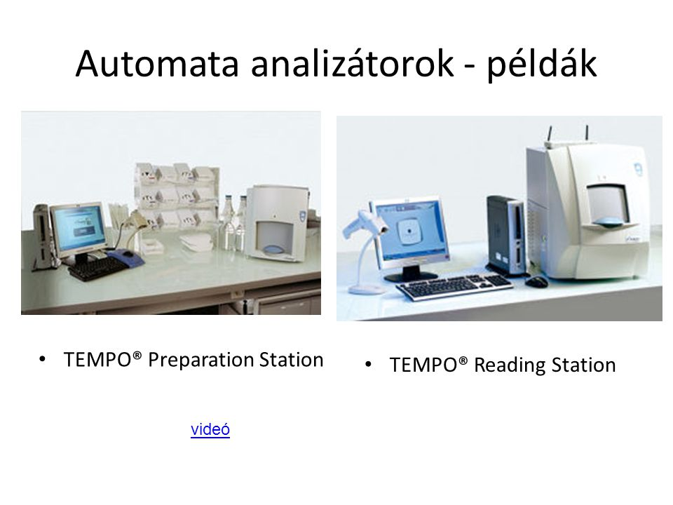 TEMPO® Reading Station TEMPO® Preparation Station videó