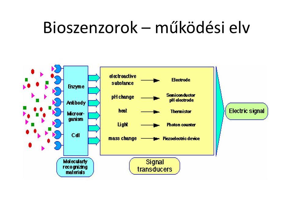 Bioszenzorok – működési elv