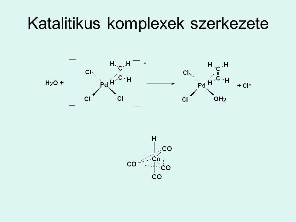 Katalitikus komplexek szerkezete