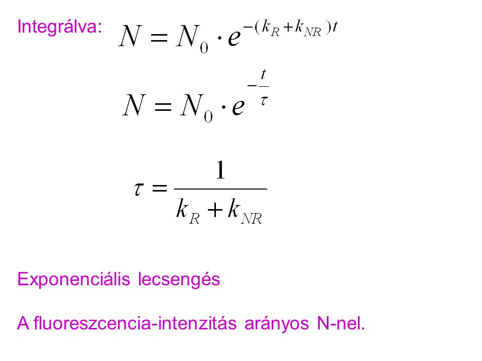 Pumpa-próba kísérlet II: Tranziens abszorpció két lézerrel