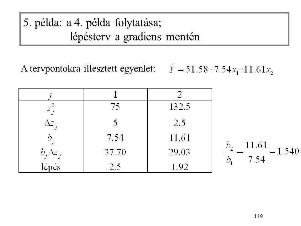 119 5. példa: a 4.