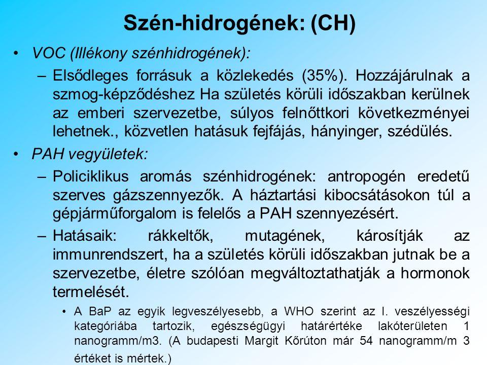 Nitrogén-dioxid: (NO 2 ) Vörösesbarna, szúrós szagú, a levegőnél nehezebb gáz.