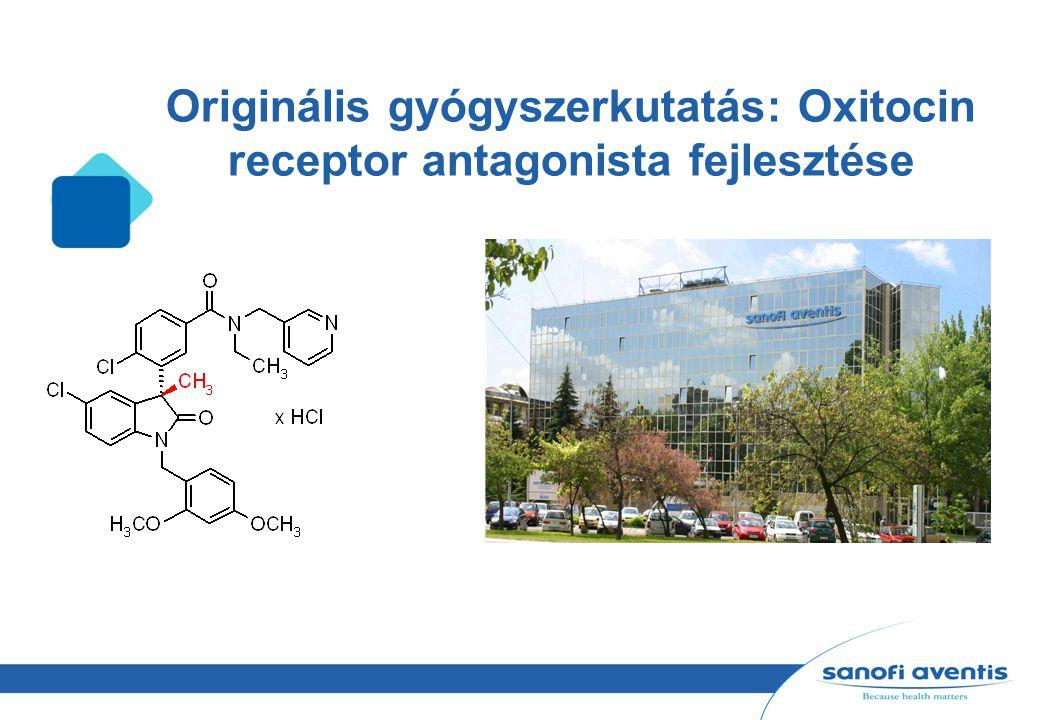 Originális gyógyszerkutatás: Oxitocin receptor antagonista fejlesztése