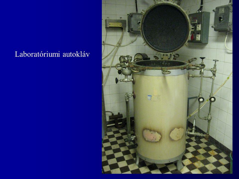 Laboratóriumi autokláv