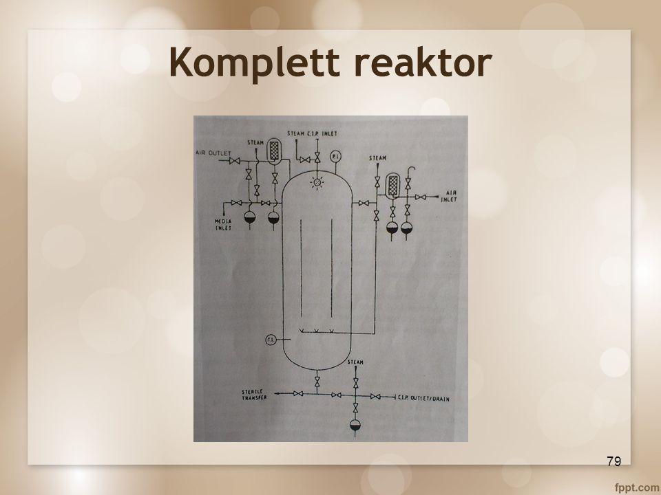 Komplett reaktor 79