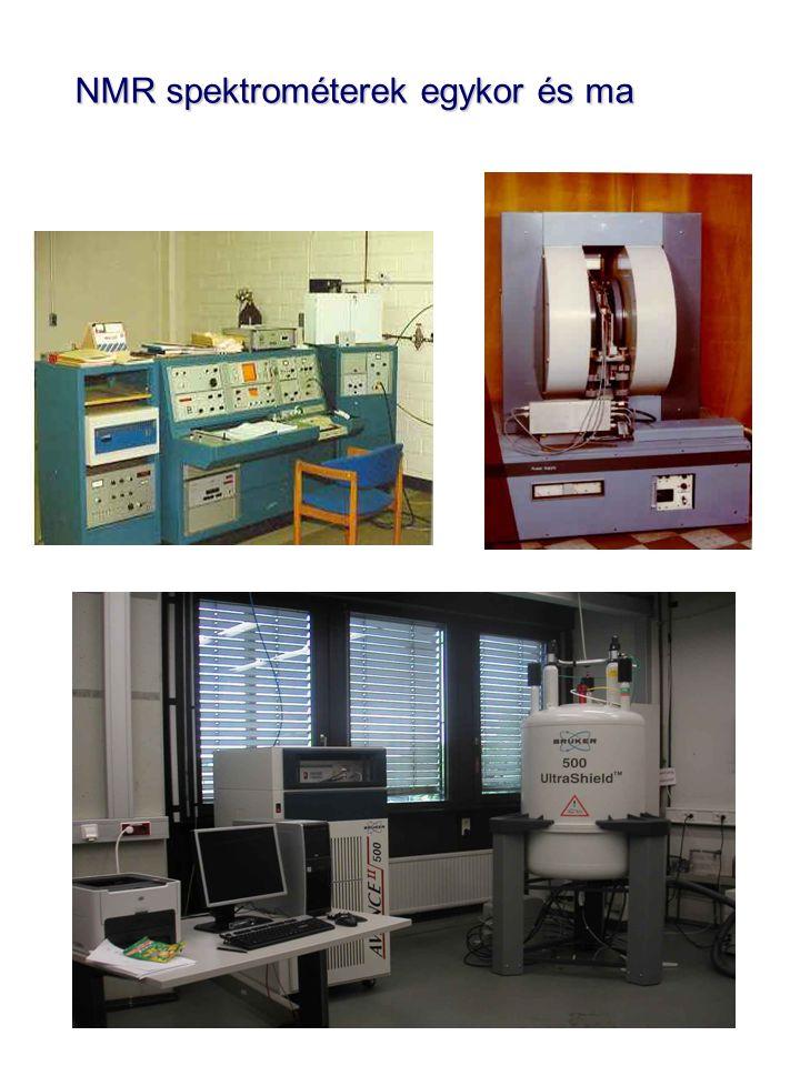 NMR spektrométerek egykor és ma