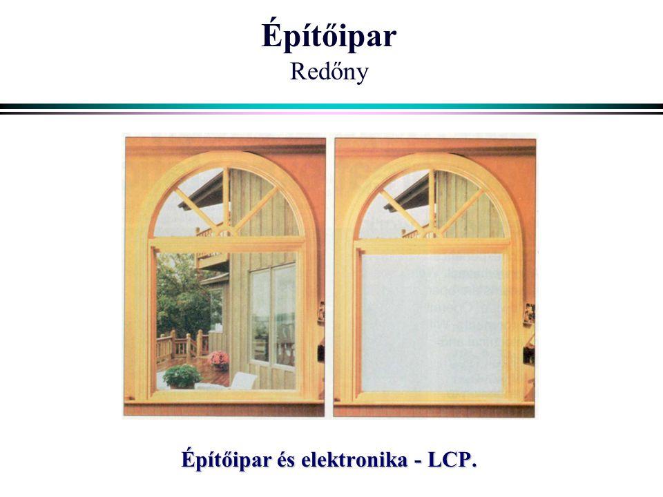 Építőipar Redőny Építőipar és elektronika - LCP.