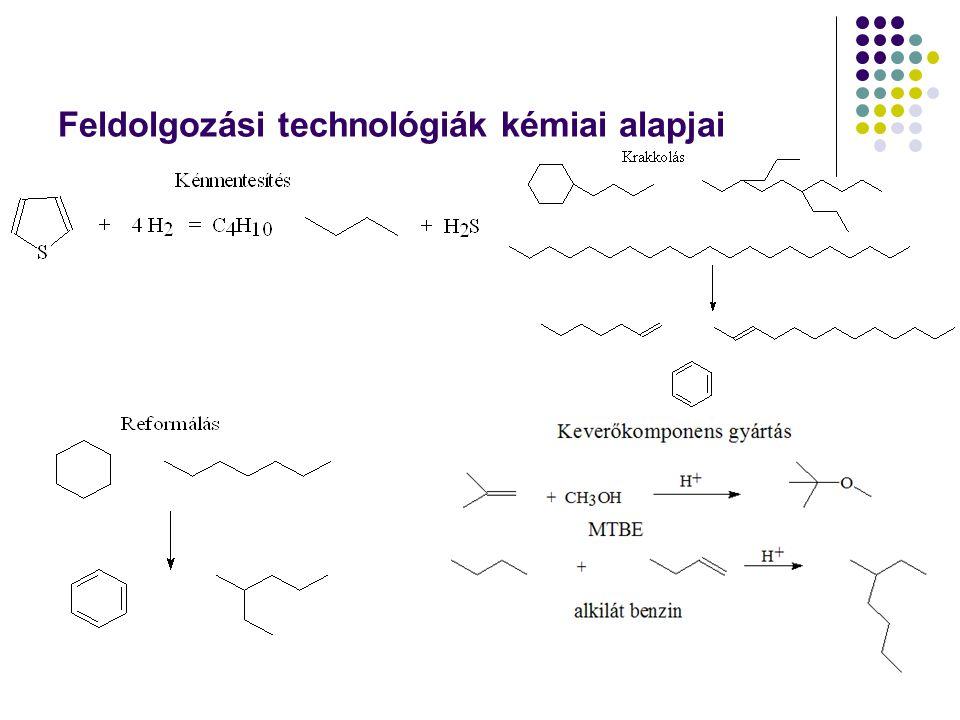 Feldolgozási technológiák kémiai alapjai