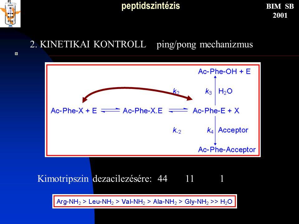 peptidszintézis BIM SB 2001 2.