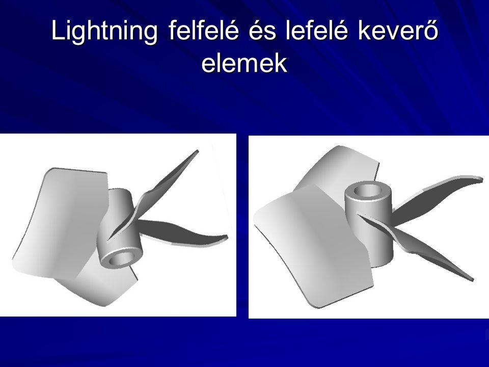 Lightning felfelé és lefelé keverő elemek