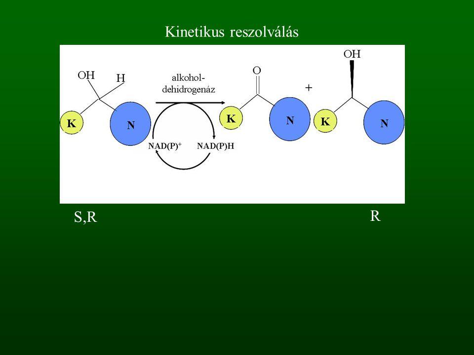 Kinetikus reszolválás R S,R