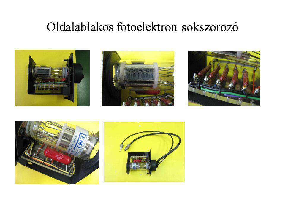 Oldalablakos fotoelektron sokszorozó