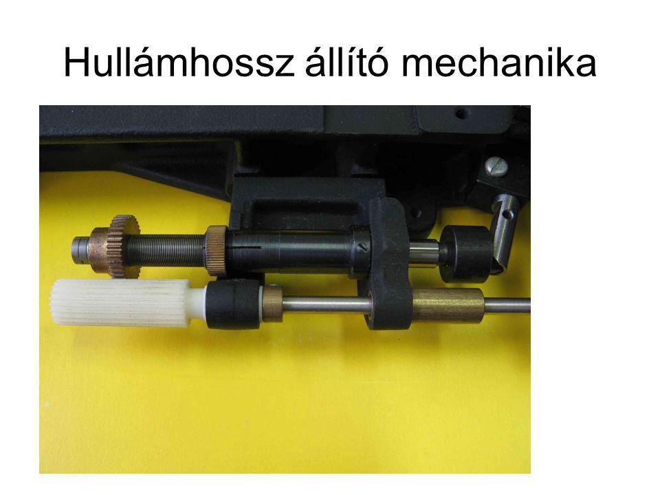 Hullámhossz állító mechanika