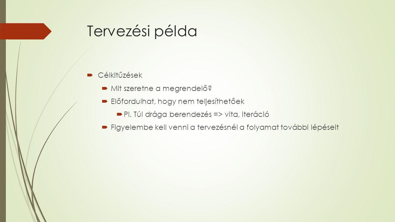 Elvárások  Termék: rekombináns organizmus által termelt intracelluláris anyag  Éves termelés: 30.000 kg tiszta és száraz termék  Fermentációra vonatkozó adatok:  Maximális sejttömeg amit el szeretnénk érni: 50 g/l  Maximális termékmennyiség: 0,05 g/g sejt (száraz)  Oxigénhozam: Yx/o=1,0  Glükózhozam: Yx/s= 0,4  Növekedési sebesség: 0,3 h-1 (jelenlegi táptalaj, 30 °C, pH= 6,5)  Táptalaj: különböző sók, élesztő kivonat, tiamin, glükóz => 5 g/l  Fermentáció hőmérséklete: 30 °C  Fermentáció pH= 6,5 ( kénsav, ammónia)  Fermentáció időtartalma: 18h