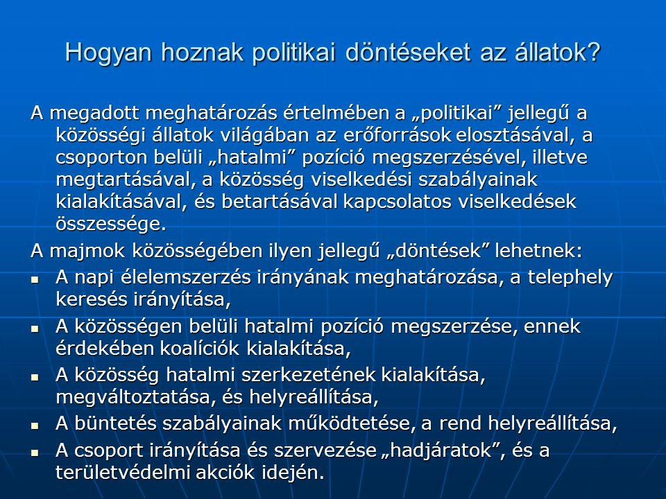 A politikai irányzatok térképe Konzervatív: rendpárti Liberális: Változás-párti Csoport-identitás orientált: Nemzet, vallás, etnikum, osztály Egyenlőség, méltányosság-párt Kommunisták Szociál demokraták