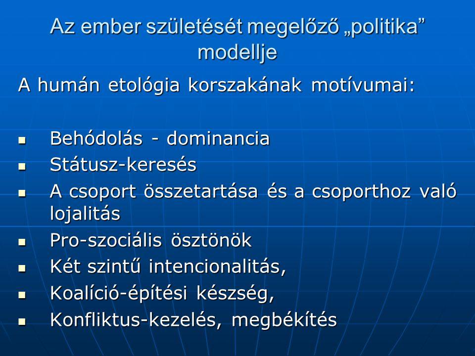 Max Weber: az uralom három típusa 1.