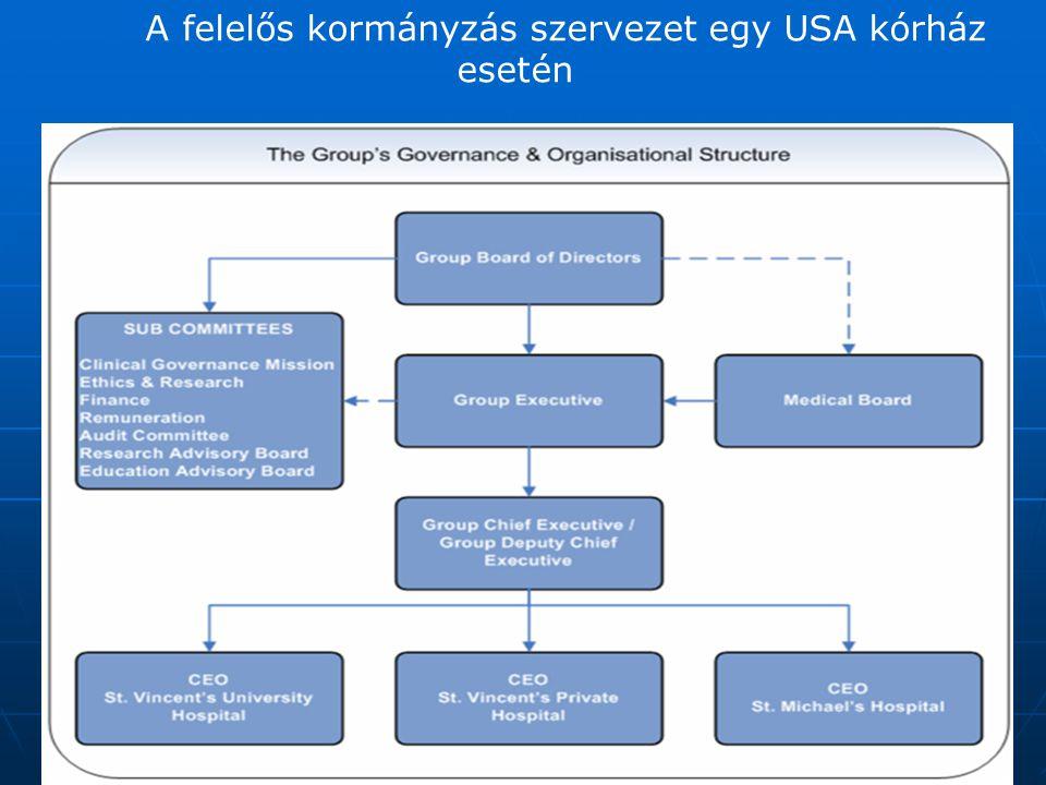 Type:JPG A felelős kormányzás szervezet egy USA kórház esetén