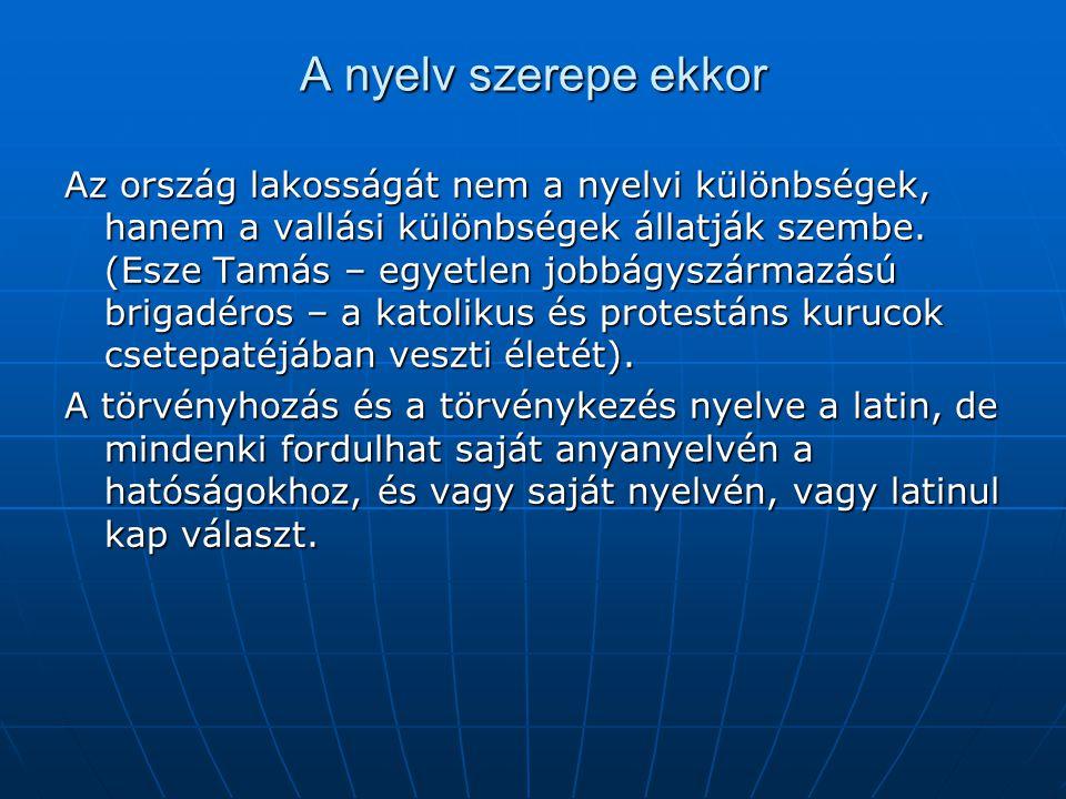 """A magyar nemzet – Rákóczi Emlékirataiban """"Az egész világ tudja, hogy a magyar nemzetet a törvények négy rendre osztják.. Az ország rendjei között első"""