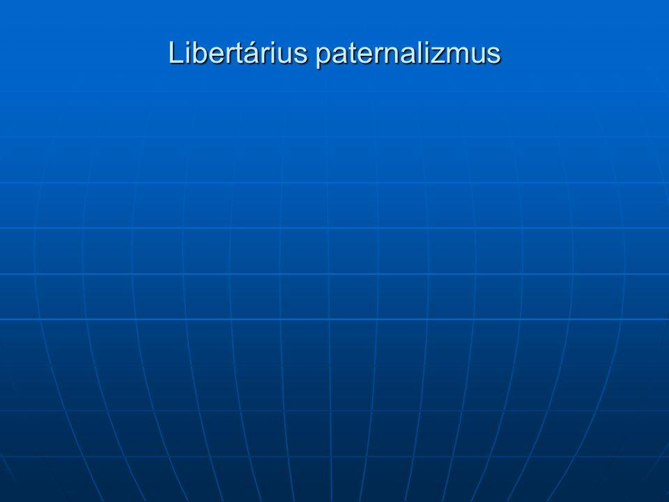 Libertárius paternalizmus
