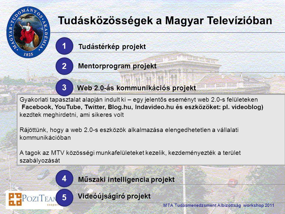 Gyakorlati tapasztalat alapján indult ki – egy jelentős eseményt web 2.0-s felületeken (Facebook, YouTube, Twitter, Blog.hu, Indavideo.hu és eszközöket: pl.