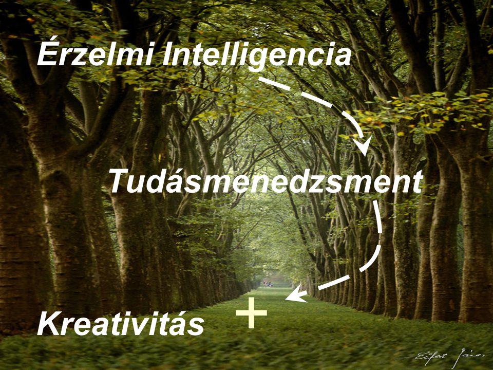 Tudásmenedzsment Érzelmi Intelligencia Kreativitás +