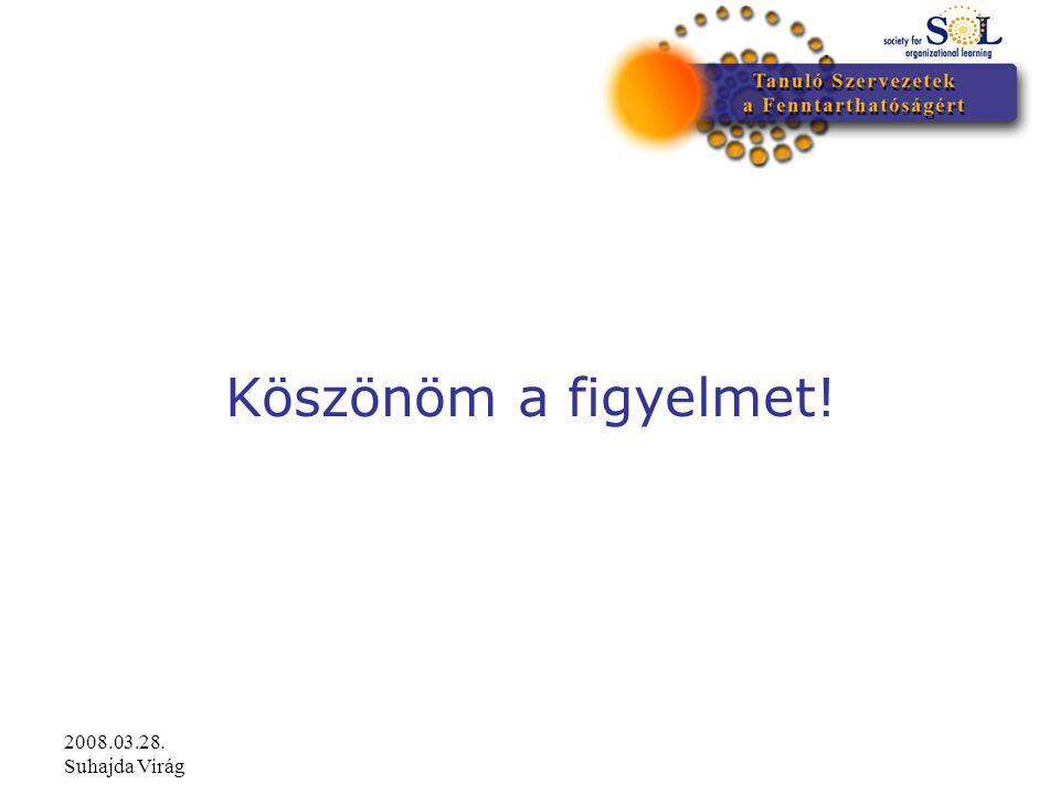 2008.03.28. Suhajda Virág Köszönöm a figyelmet!