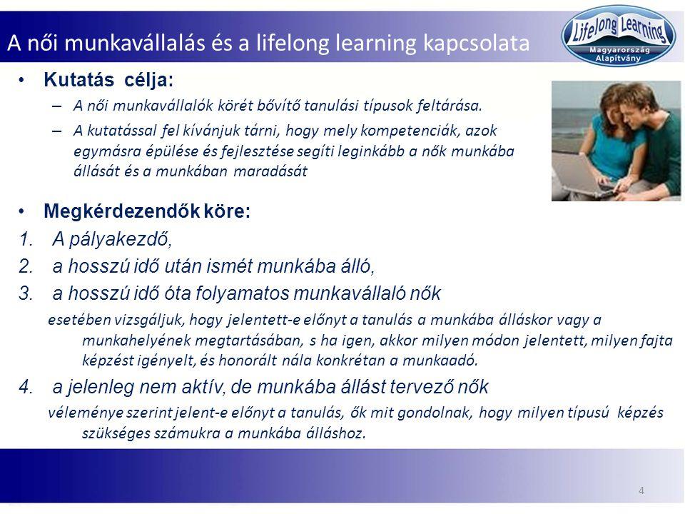 A női munkavállalás és a lifelong learning kapcsolata 5