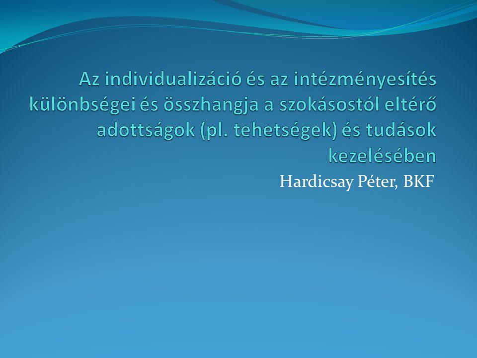 Hardicsay Péter, BKF