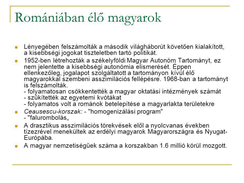 A felvidéki magyarok A csehszlovák fennhatóság alá került magyarokat megfosztották állampolgárságuktól.