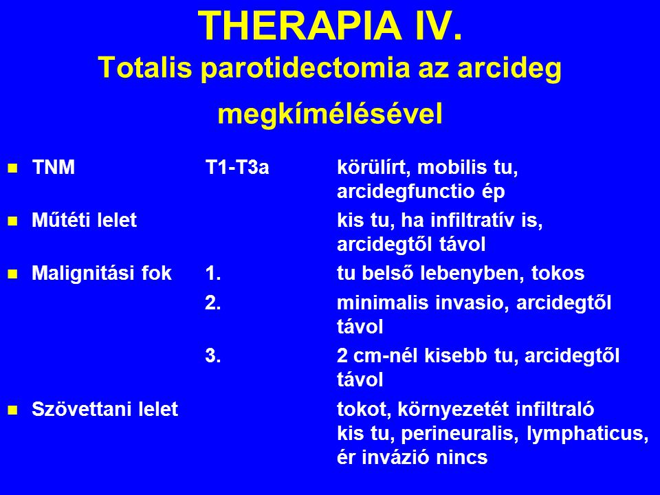 THERAPIA IV.